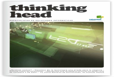 HEADER Magazine – Thinking head