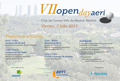 VII Open Day de AERI