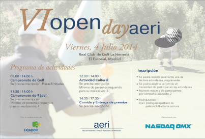 VI Open Day de AERI