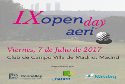 IX OPEN DAY 2017 DE AERI